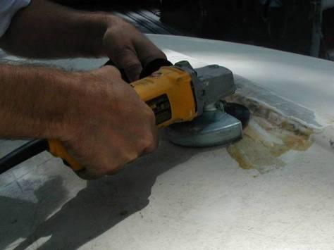 02-grinding (rapikan bagian yang lobang)